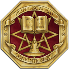 Irish Discworld Convention Logo